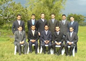 Alumnos de la X promoción